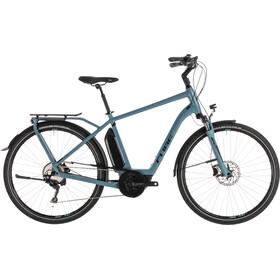 Cube Town Sport Hybrid Pro 500 - Vélo de ville électrique - bleu/Bleu pétrole